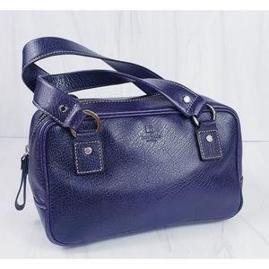 Kate Spade Plum Pebble Leather Satchel Handbag